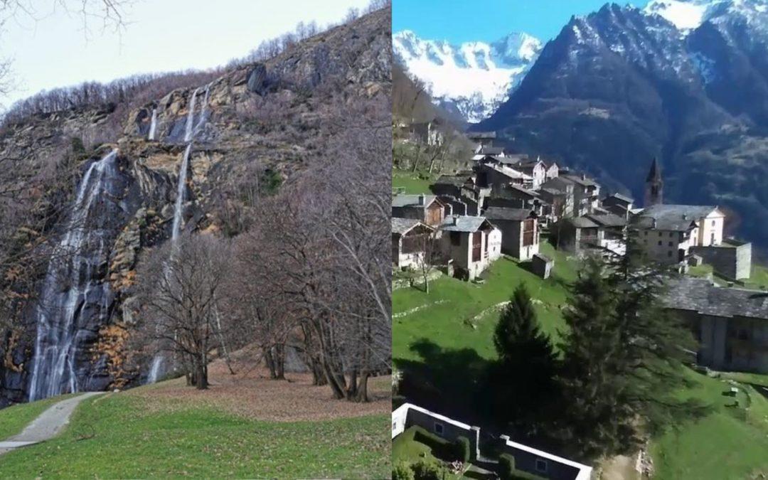 Domenica 14/06/2020 – Cascate Acquafraggia & Savogno il Borgo Fantasma (SO)